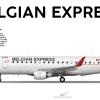 Embraer E175 - Belgian Express