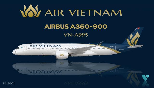 Air Vietnam A350 900 Official