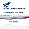 Air Vietnam Tu 204
