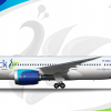Peacock 787 8