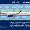 JetBlue Airbus A321 New Tail Concept