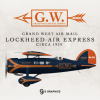 Grand West Air Mail Service Lockheed Air Express