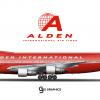 "Alden International Air Lines Boeing 747-100 ""Spirit of Plymouth"""