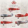 Alden Air Lines Lockheed Vega Poster