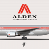 Alden Boeing 767-200 (1989 - 2002 livery)