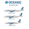OCEANIC Embraer Fleet