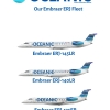 OCEANIC Embraer ERJ fleet