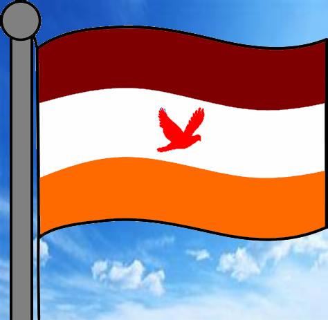 The Republic of Koquwa - Flag Cover