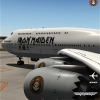 Iron Maiden Ed Force One Boeing 747-8