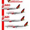Jordanair A320 poster