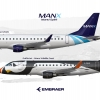 Manx Airlines E175s