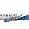 California West Airlines Airbus A321-231