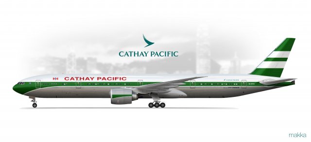 Cathay Pacific - Boeing 777-300ER