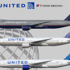 United Airlines   Boeing 777-222(ER)   N229UA   1993 Livery   2010 Livery   2019 Livery  