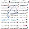 Boeing 777 300(ER) Poster ALL CURRENT OPERATORS