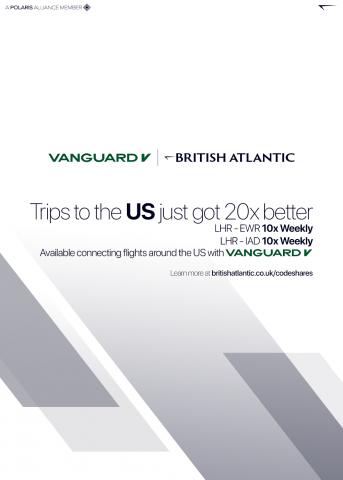 Vanguard Codeshare Agreement