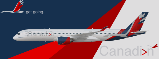 Canadian's Airbus A350-900