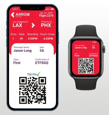 Arrow Airlines Application