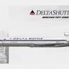 N481DA Delta Shuttle B727-232/Adv. circa 1995