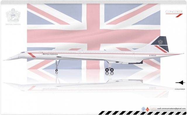 BAC/Aerospatiale Concorde British Airways