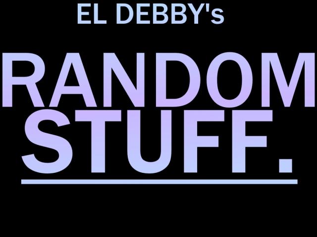 EL DEBBY random stuff. cover