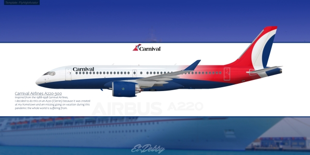 Carnival Airlines A220-300/CS300