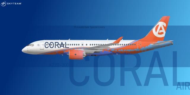 Coral A220-300/Cs300 ''Ft-lauderdale''
