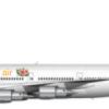 Blen air's 747-100 livery