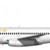 Blen air 737-200adv livery