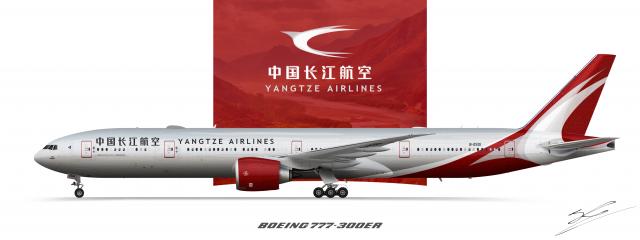 Yangtze Boeing 777-300ER
