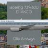 Olix Airways Germany | Boeing 737-300 Livery Design