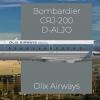 Olix Airways Germany | Bombardier CRJ-200 Livery Design