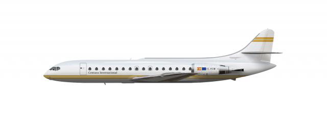 Centara International Caravelle 10R Livery Concept