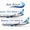 Air Aqua 737 poster