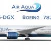 Air Aqua 787 9