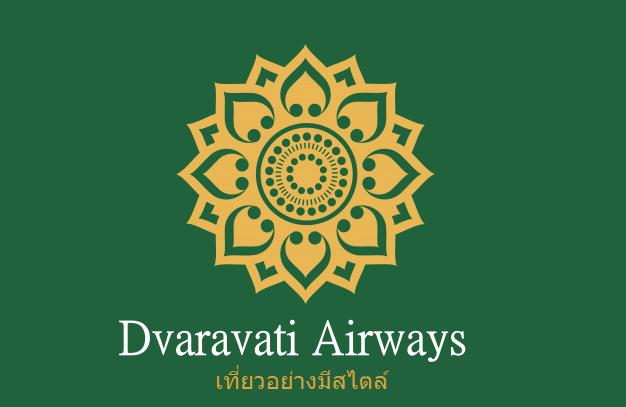 Dvaravati logo (in green, alternative)