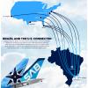 American Overseas Airways & SAB partnership | American Overseas Airways Boeing 777-300ER