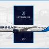 American Overseas Airways | Boeing 767-400ER