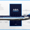 American Overseas Airways | Boeing 727-200Adv.
