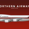 Northern Airways Boeing 747-400 1990-2002