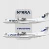 Norra And Finnair ATR 72-212A