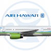 Air Hawaii | 1990s | Boeing 757-200