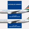 Seychelles B767-200ER/300ER Poster