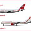 Seychelles Airways Widebody Trials