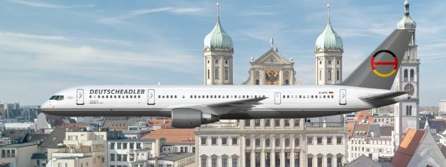 Deutscheadler   Boeing 757-200   Livery Concept 2002-2006