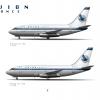 Avion | Boeing 737-100 & 737-200 | 1970s