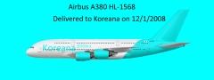 Koreana 코리아나 A380