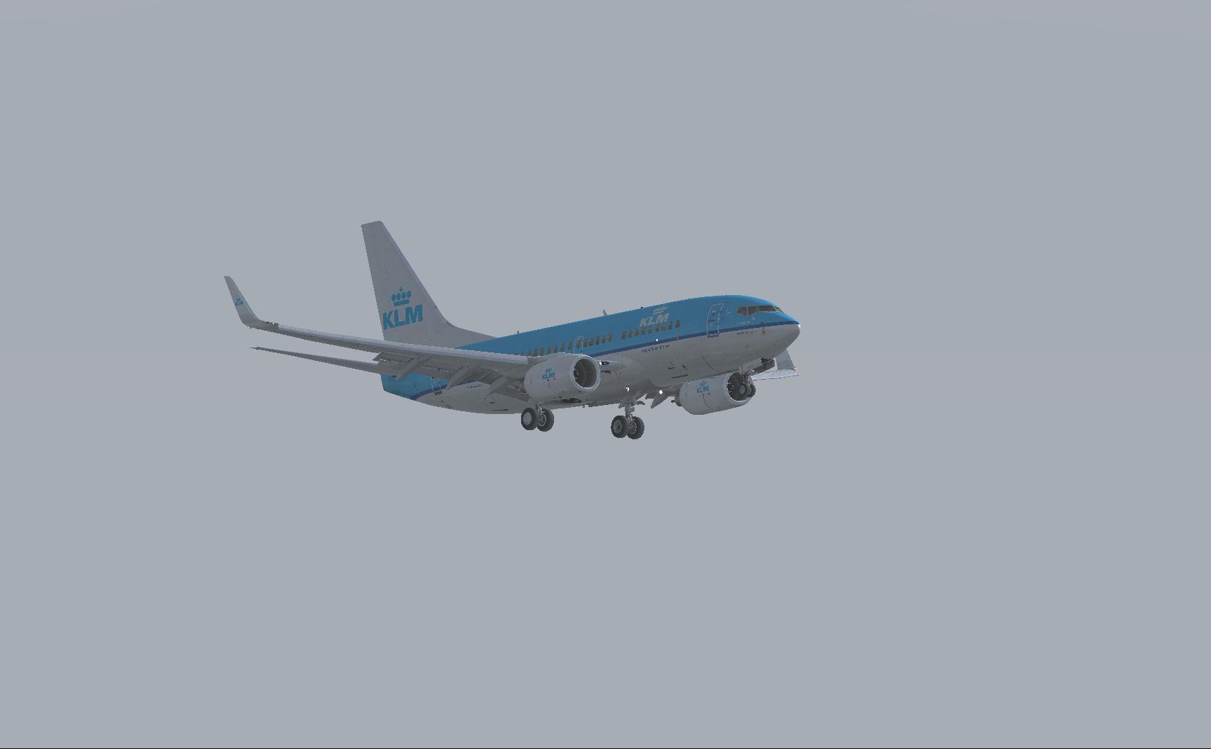 Final approach @AMS