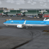 KLM B739 taxi in at IST