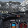 Final approach at Innsbruck
